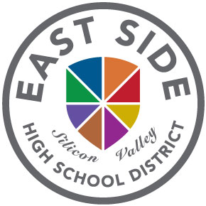 East Side Union High School District crest design by others for reference.