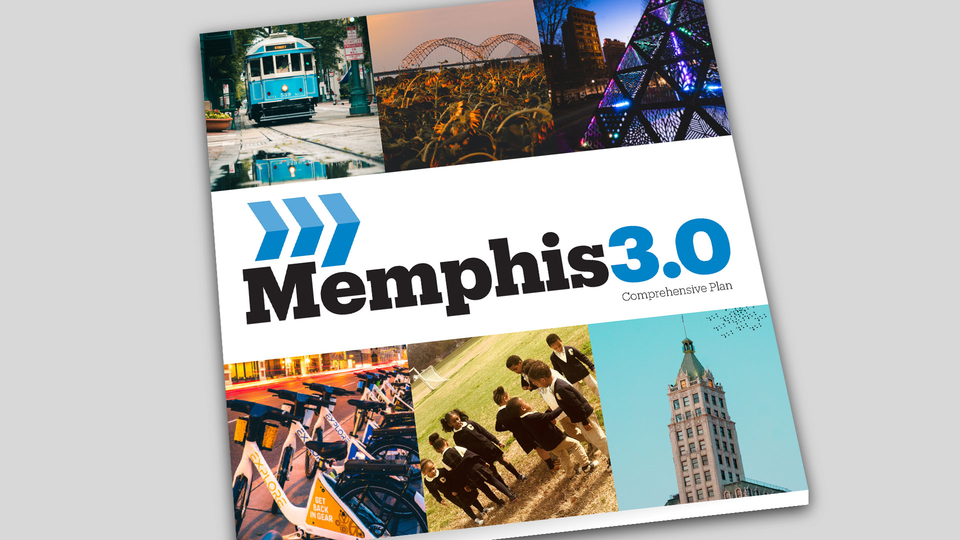 Cover of the Memphis 3.0 Comprehensive Plan Document