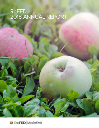 ReFED Annual Report Cover.
