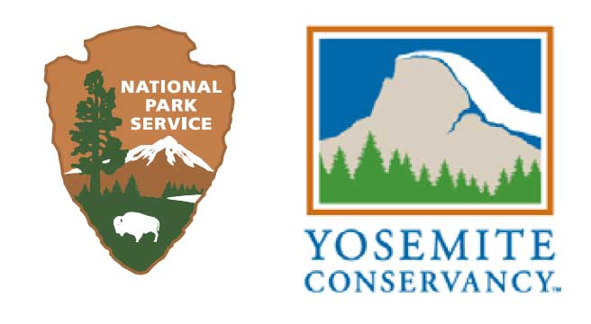 NPS and Yosemite Conservancy logos